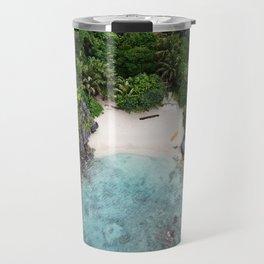 Isolated Beach Travel Mug