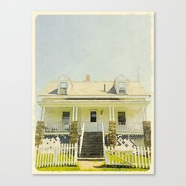 Pemaquid Point Lightkeepers House, Maine Canvas Print