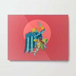 Garuda 2 Metal Print