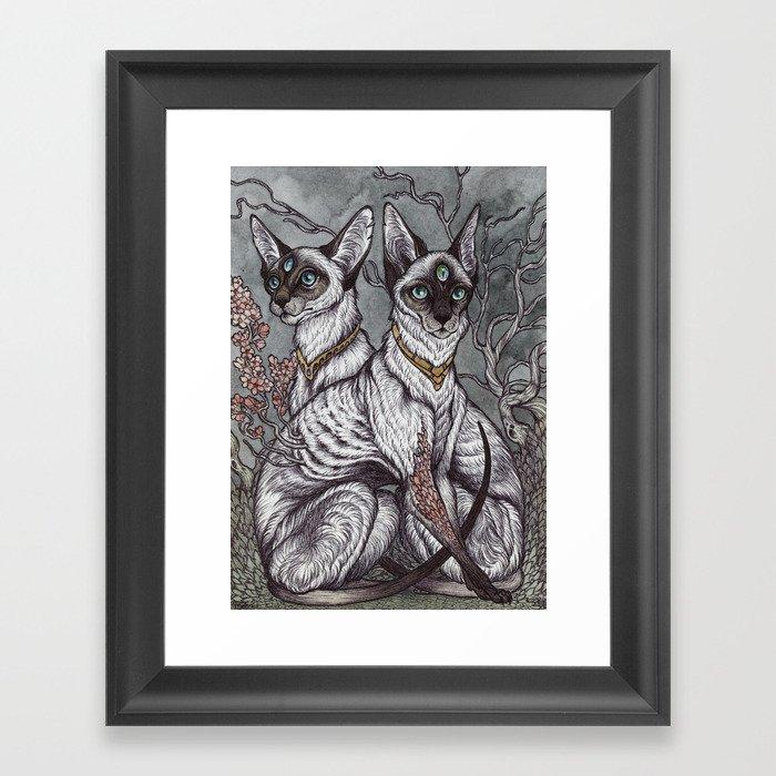 Gift of Sight art print Framed Art Print