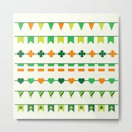 Irish, Ireland, shamrock, saint patricks day, irish gifts women, irish gift, luck of the irish, Metal Print