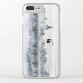 Dreaming Dog Clear iPhone Case