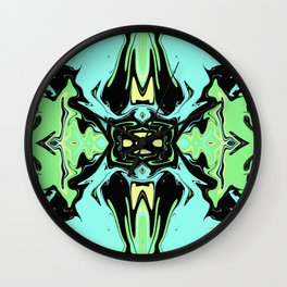 Hidden Turtles Wall Clock