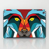 wolf iPad Cases featuring Wolf by mark ashkenazi