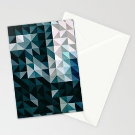 :: geometric maze XV :: Stationery Cards