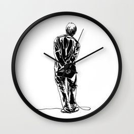 Liam Gallagher Oasis Wall Clock