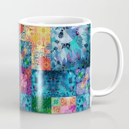 High Definition Geometric Quilt 1 Coffee Mug
