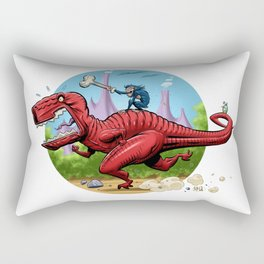 Devil Dinosaur and Moon Boy Rectangular Pillow