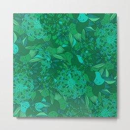 Giardino Emerald Metal Print
