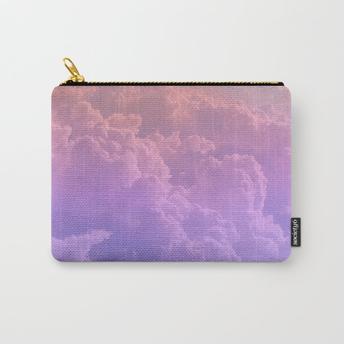 pastel clouds Carry-All Pouch