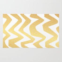 Golden Lines Rug