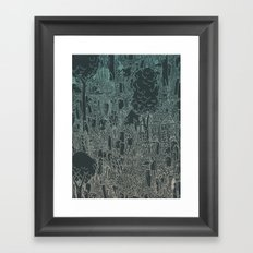 enviro-mental Framed Art Print