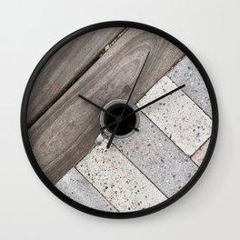 Artistic Cold Brew Shot // Wood & Stone Caffeine Pop Art Wall Hanging Coffee Shop Photograph Wall Clock