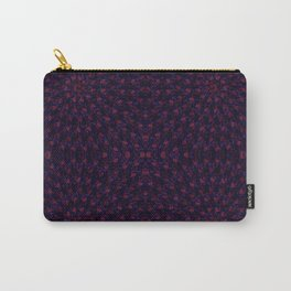 Hypnotic Bouquet Pattern Carry-All Pouch