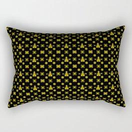 High Quality - Gold and Black   Rectangular Pillow
