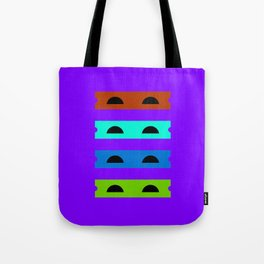 Teenage Minimal Ninja Turtles Tote Bag