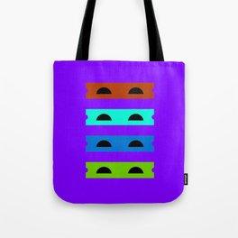 Teenage Minimal Ninja Turtles Tote Bag