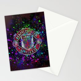Watercolor Manchester United Stationery Cards