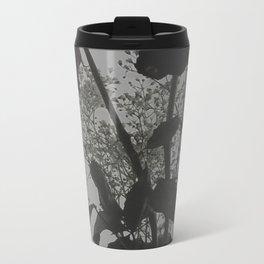 Dark Flora Metal Travel Mug
