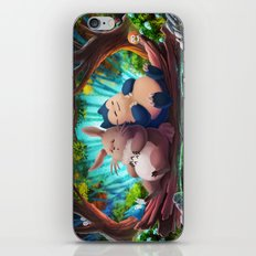 Snooze Patrol iPhone & iPod Skin