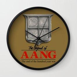 The legend of Aang Wall Clock