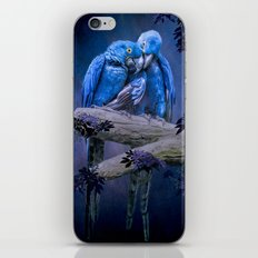 When I'm Feeling Blue iPhone & iPod Skin