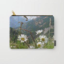 Camomiles in the Alps Carry-All Pouch