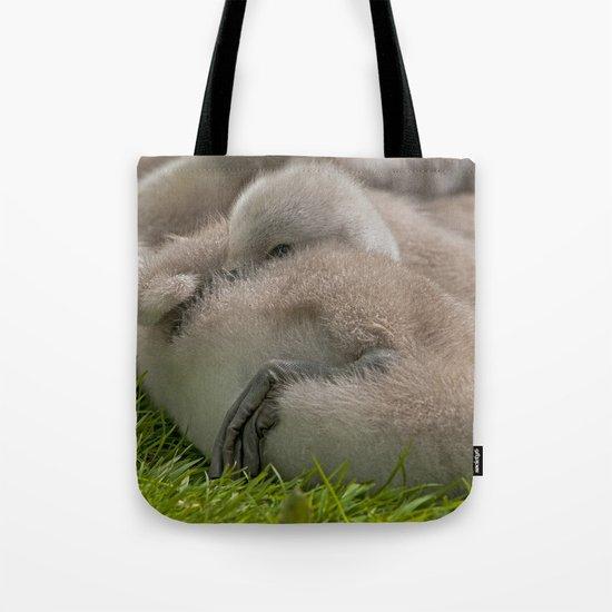 Sleepy Head Tote Bag