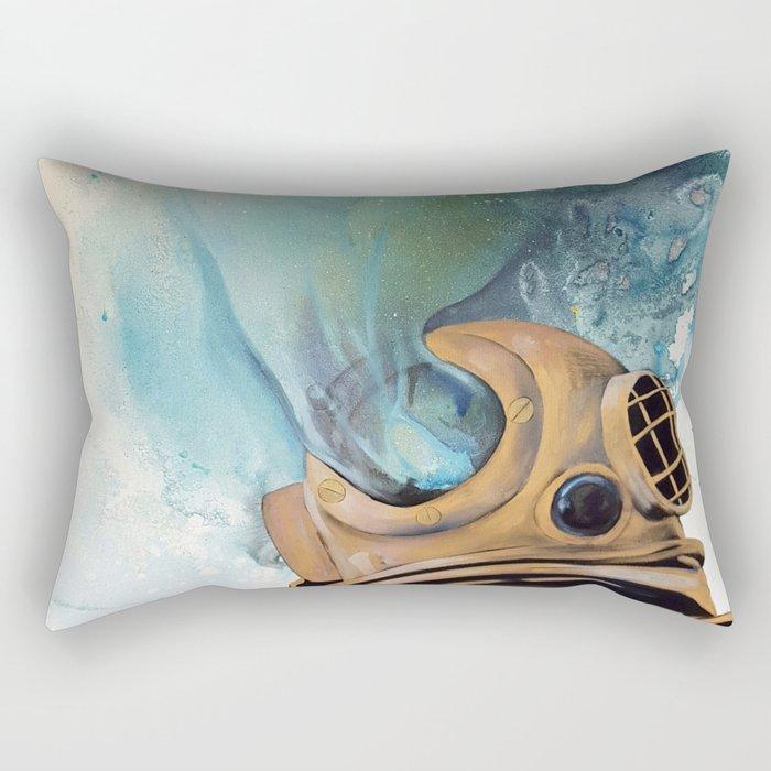 Deep Sea Diver #2 Rectangular Pillow