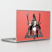 death Laptop & iPad Skins featuring Death by Repulp