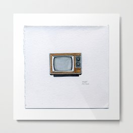 Vintage TV - Drawing #43 Metal Print