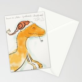 Santa Rex / An Olde-Fashioned Christmas Stationery Cards