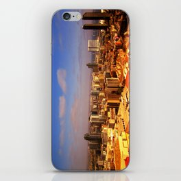 Colorful Downtown San Diego iPhone Skin