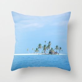 The San Blas Islands in Panama Throw Pillow
