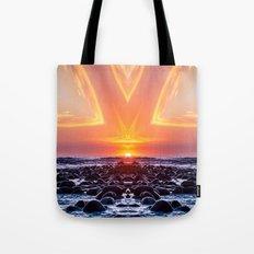 Kaleidoscape: El Tunco Tote Bag