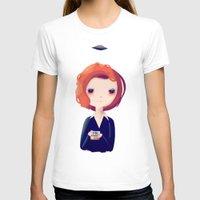 dana scully T-shirts featuring Dana by Nan Lawson