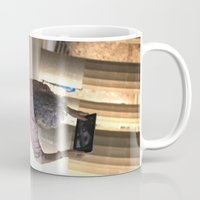 technology Mugs featuring damn technology! by Gian...