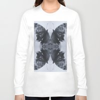 moth Long Sleeve T-shirts featuring Moth  by Ali Prentice