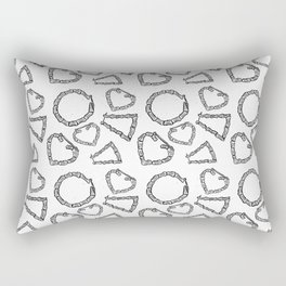 around the way girl Rectangular Pillow