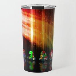 Super Mario Kart - Pixel art Travel Mug