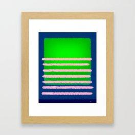 MR - L7. Framed Art Print