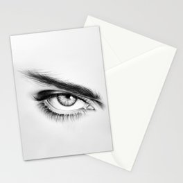 Eye Drawing Stationery Cards