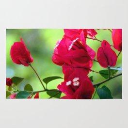 Ruby Blooms Rug