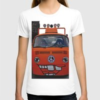 volkswagen T-shirts featuring funny volkswagen by gzm_guvenc