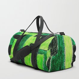 Three Green Puzzle Duffle Bag