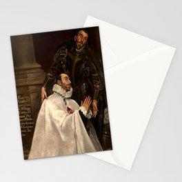 "El Greco (Domenikos Theotokopoulos) ""Julián Romero and his Patron Saint"" Stationery Cards"
