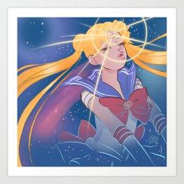Sailor Moon Transformation 2 Art Print