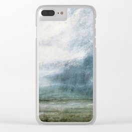 Rain Cloud - 1984 Clear iPhone Case