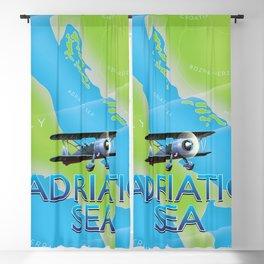 Adriatic Sea Blackout Curtain