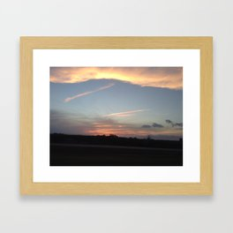 There is a Castle on a Cloud Framed Art Print